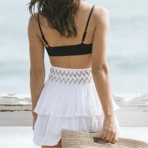 Soluna Swim Skirts - Soluna Swim Ruffle Skirt Coverup
